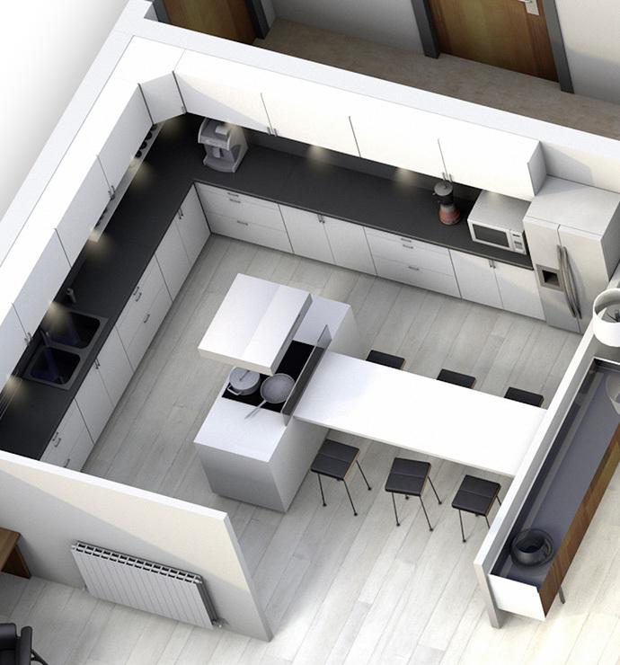 Privative rooms: kitchen, storeroom